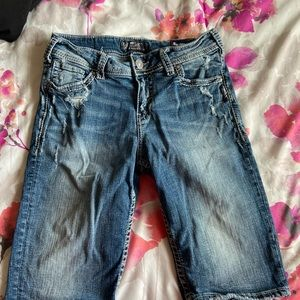 Size 29 silver jeans shirts